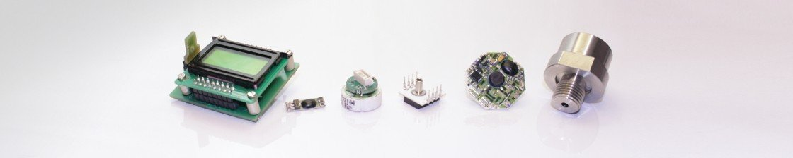 Examples for custom specific pressure sensors, transmitters and transducers produced by Analog Microelectronics.