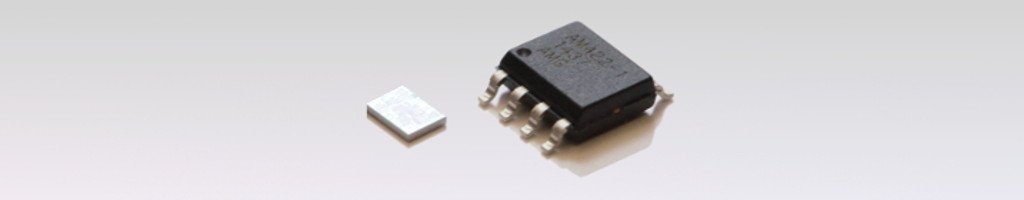Package variants of the V/I-converter IC AM422-1