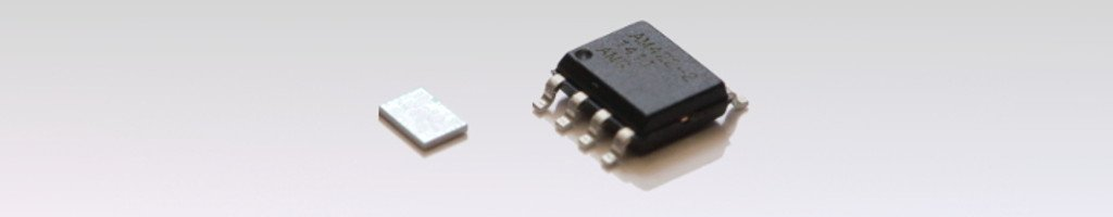 Package variants of the V/I-converter IC AM422-2