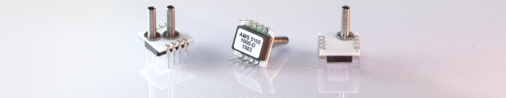 Different types of the OEM pressure sensor series AMS 5105.