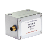 AMS 3012 miniaturized pressure transmitter series AMS 3012 with 4 .. 20 mA current-loop output.
