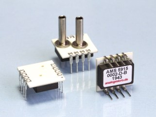 The ultra low pressure sensor AMS 5915-0002-D-B and its different package variants